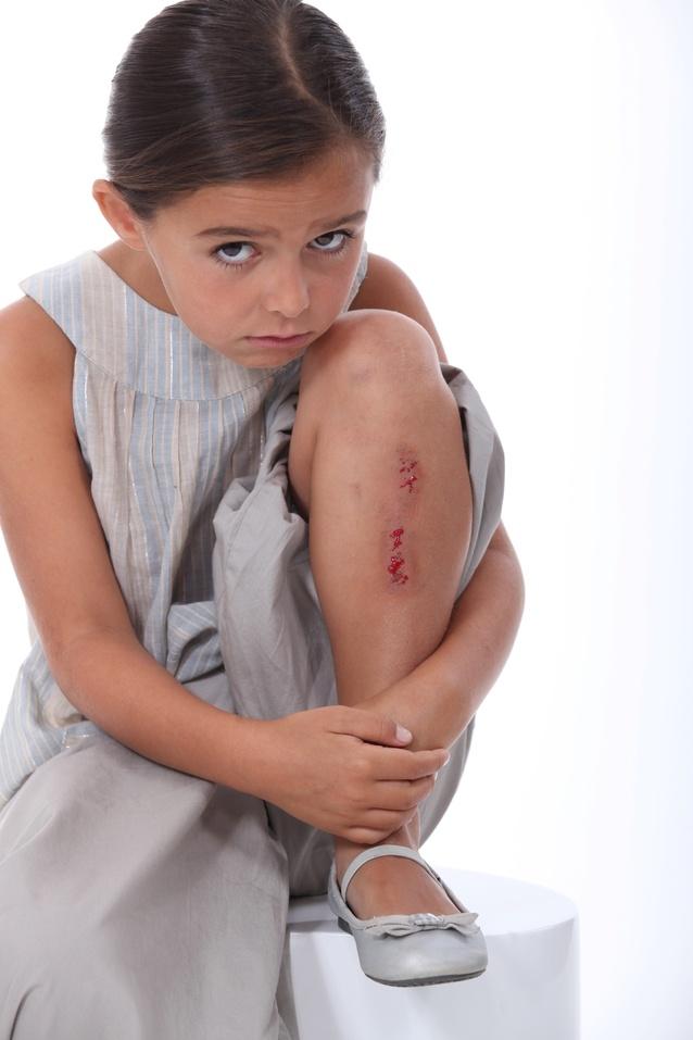 child injured at school