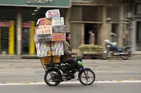 A worker on a delivery bike: independent contractor or employee?