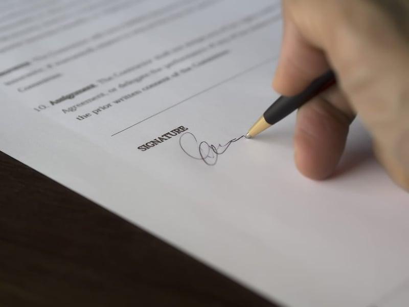 signature-on-document