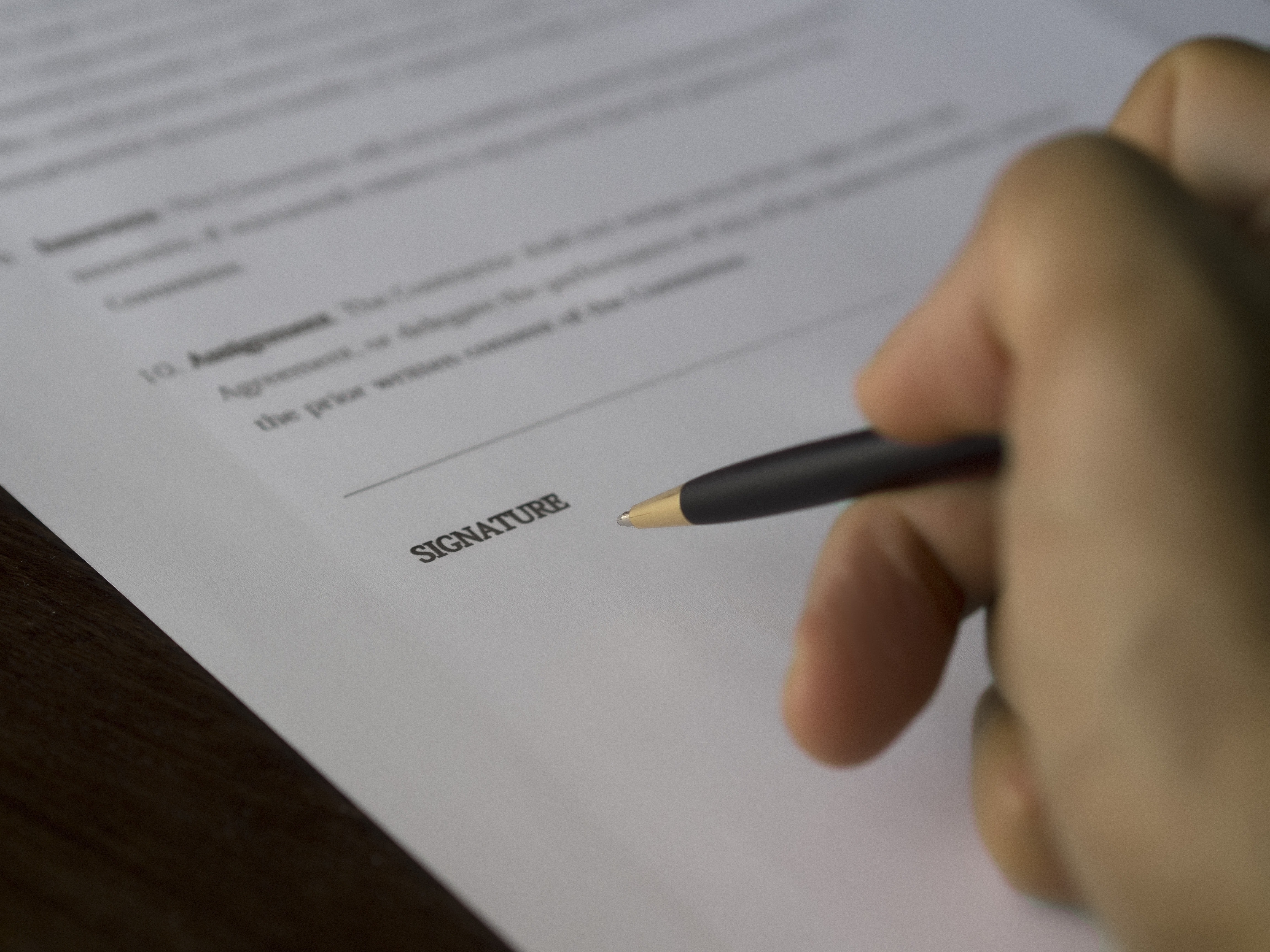 agreement-paperwork